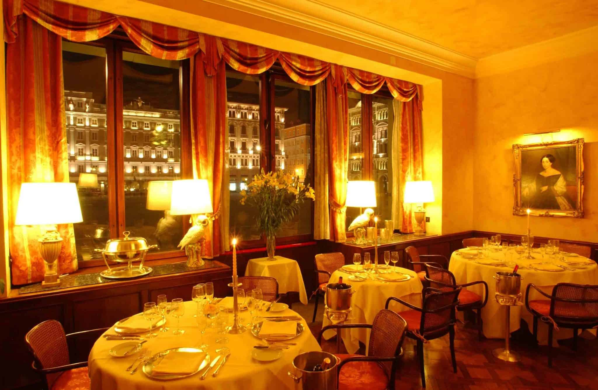 Grand Hotel Duchi D'Aosta Harry's Restaurant