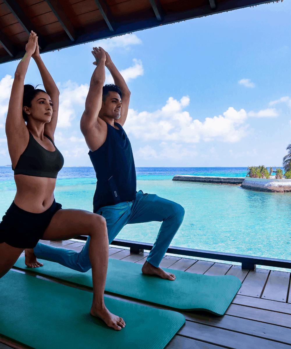 Ozen Reserve Bolifushi Malediven Yoga